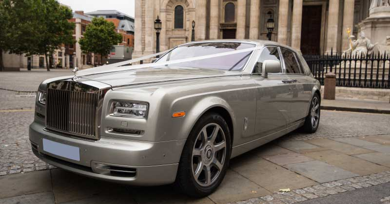 About Our Rolls Royce Phantom Hire Service